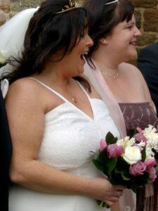 beaded wedding dress for the fuller figure